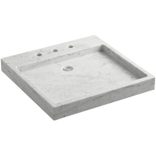 Kohler Purist® Stone Rectangular Drop-In Bathroom Sink