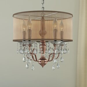 Margrett 5-Light Drum Chandelier