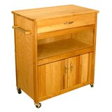 Bertold Kitchen Cart by Winston Porter