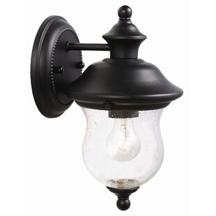 Where buy  Eugenie 1-Light Outdoor Sconce By Charlton Home