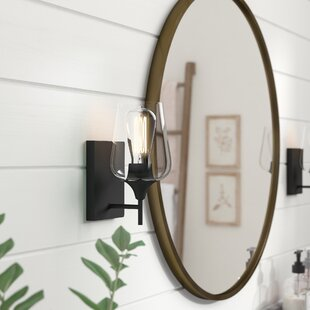 Rainier 1-Light Armed Sconce by Gracie Oaks