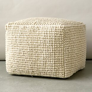 Natoli Pouf by Beachcrest Home