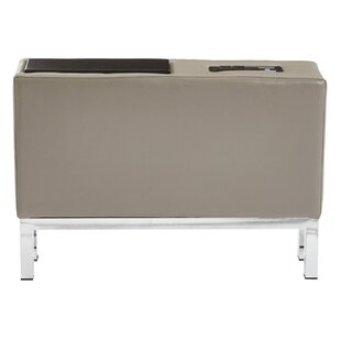 Melodee Charging Center Console Table Orren Ellis