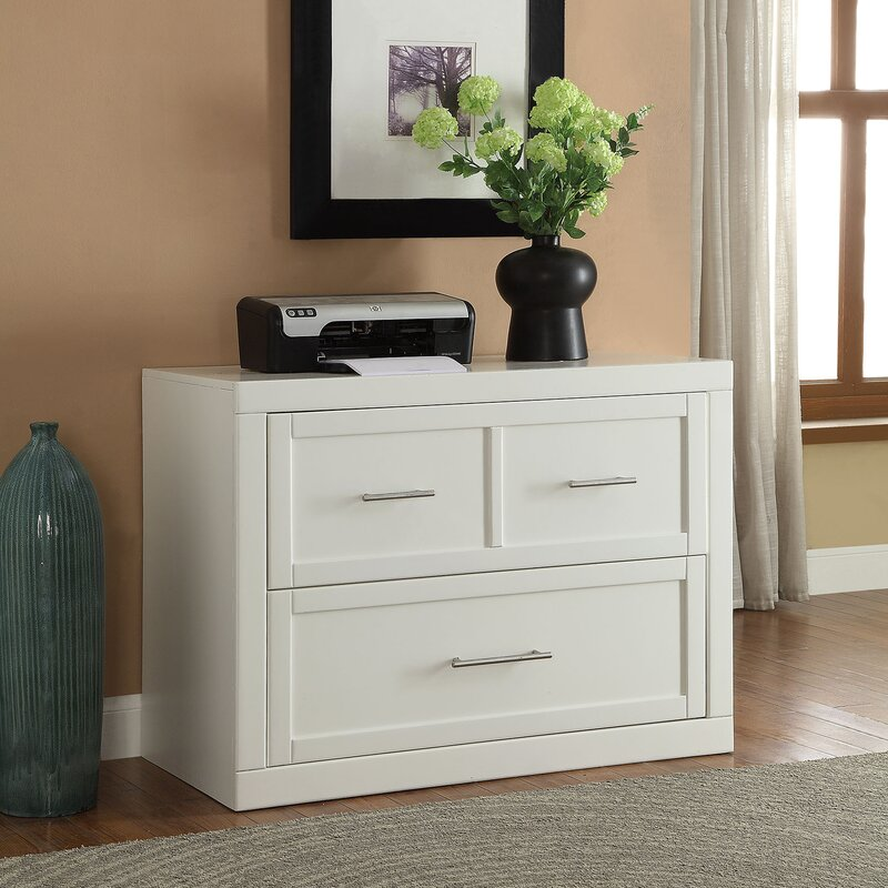 Bantice 2 Drawer Lateral Filing Cabinet