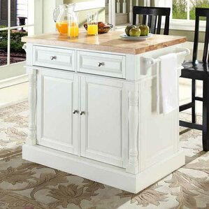Butcher Block Island Counter Tops You Ll Love Wayfair