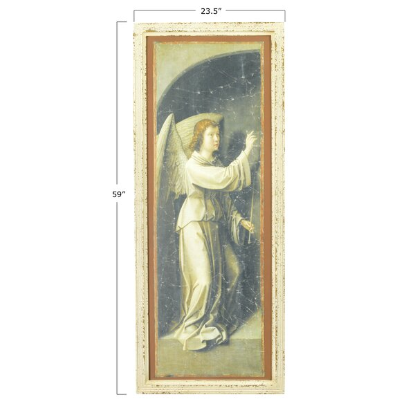 Reproduction Angel Mary 2 Piece Picture Frame Painting Print Set On Canvas Reviews Birch Lane