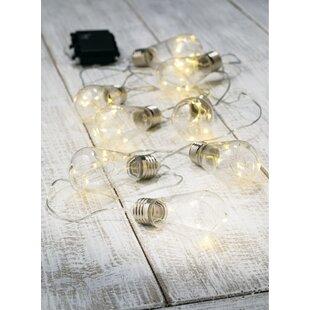 Williston Forge Eunice Edison Bulb 40 Light Globe String Light