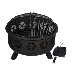 HIO Stainless Steel Wood Burning Fire Pit