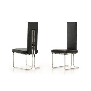Clower Upholstered Dining Chair (Set of 2) By Orren Ellis
