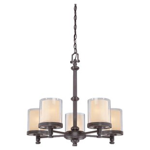 Compare & Buy Bevilacqua 5-Light Shaded Chandelier By Three Posts