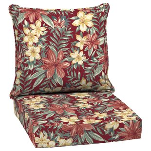 Tropical Outdoor Lounge Chair Cushion