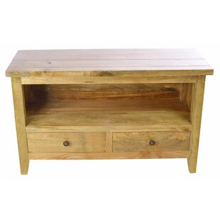Gracie Solid Wood TV Stand For TVs Up To 39