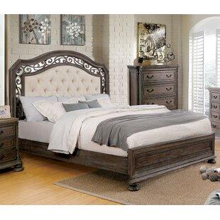 Jaylynn Upholstered Panel Bed
