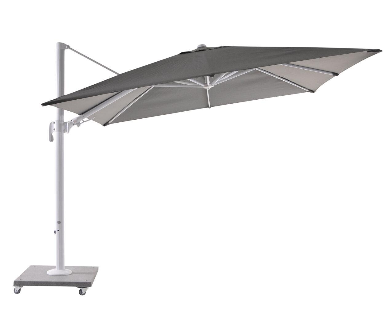 Sun parasols block as modern accessory