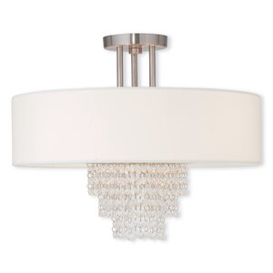 Arverne 4-Light Semi-Flush Mount