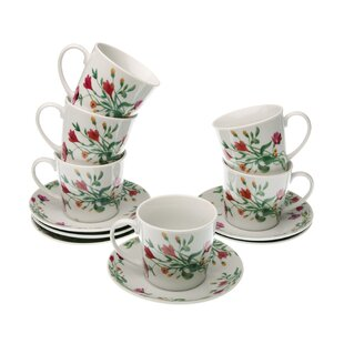 Tea Cups Set Of 6 Wayfaircouk