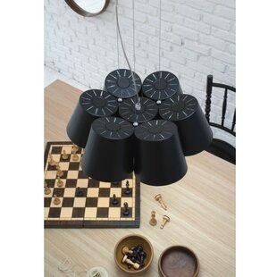 ZANEEN design Amak 7-Light LED Cluster Pendant