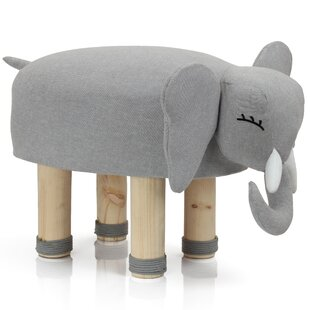 Compare & Buy Shelia Elephant Kids Cotton Stool ByHarriet Bee
