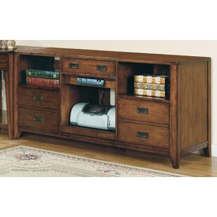 Find Danforth Open Credenza Desk By Hooker Furniture