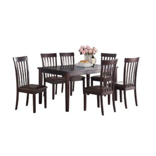 Ophélie 7 Piece Dining Set by Darby Home..