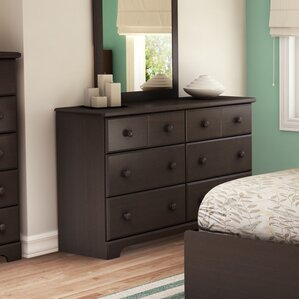bedroom chest of drawers. Barrientes 6 Drawer Double Dresser Espresso Dressers You ll Love  Wayfair