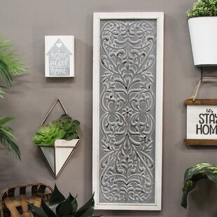 c12b59bc63 Metal Embossed Panel Wall Décor