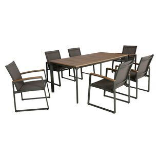 Williston Forge Avalos 7 Piece Dining Set