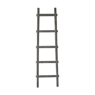 Lianes 5 Step 5 ft Decorative Blanket Ladder