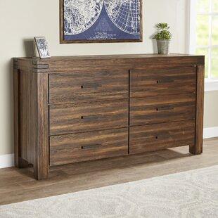 Birch Lane™ Fournette 6 Drawer Double Dresser Image