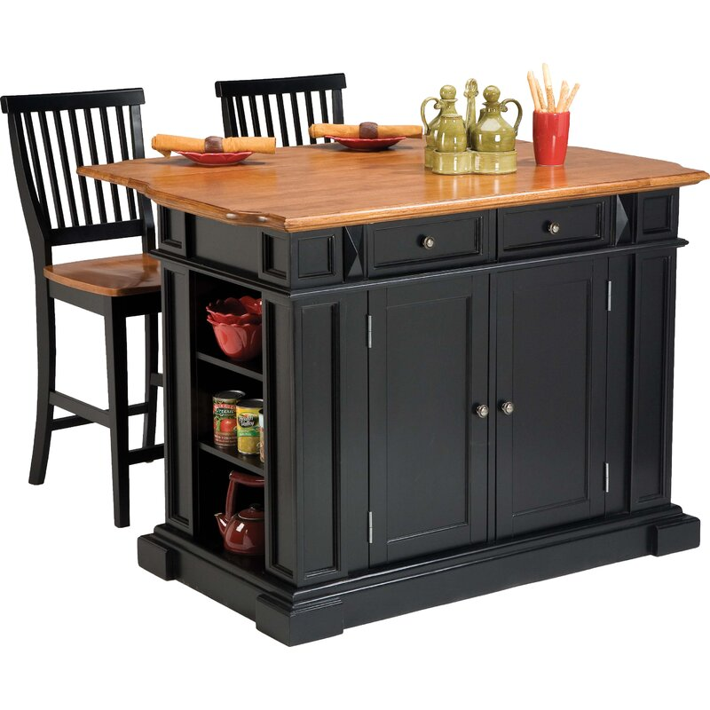 Mattice 3 Piece Kitchen Island Set Reviews Joss Main