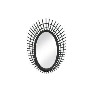 Nikki Chu Riki Bamboo Accent Mirror