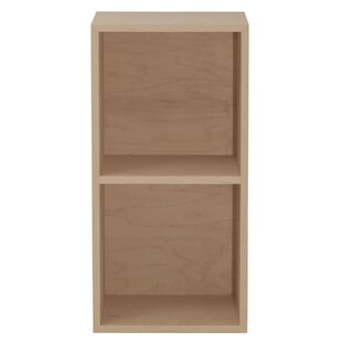 Media Double Multimedia Record Bookcase by Urbangreen Furniture