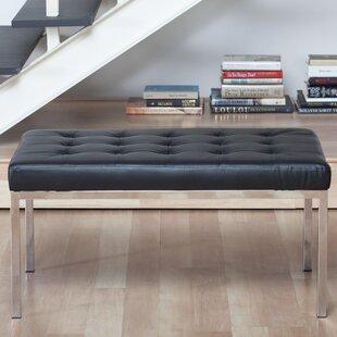 Studio Designs HOME Lintel Leather Bench