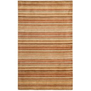Wesley Hand-Knotted Rust Area Rug