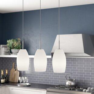 Brayden Studio Anna 3-Light Kitchen Island Pendant