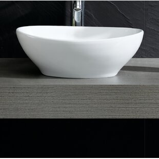 Fine Fixtures Modern Oval Vessel Bathroom Sink