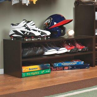ClosetMaid Stackable Horizontal 2-Tier Shoe Rack