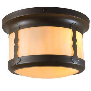 America's Finest Lighting Company Balboa 2-Light Outdoor Flush Mount