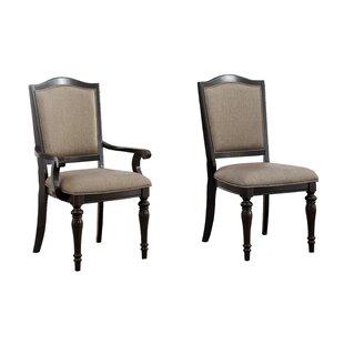 Santillan Upholstered Armchair (Set of 2)