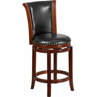 Howze 26'' Swivel Bar Stool Alcott Hill