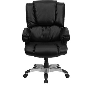 Compare prices Personalized Genuine Leather Executive Chair by Flash Furniture Reviews (2019) & Buyer's Guide