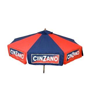 Cinzano 9' Drape Umbrella by Parasol Best