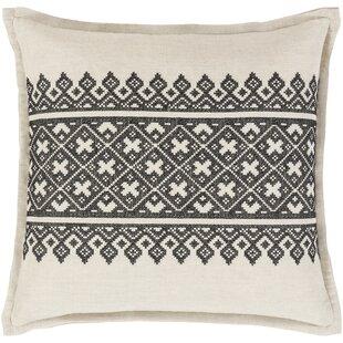 Hadriana Woven Linen Throw Pillow