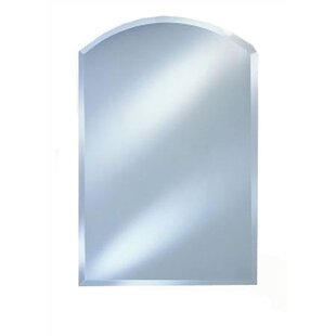 Order Day Arch Top Frameless Wall Mirror By Alcott Hill