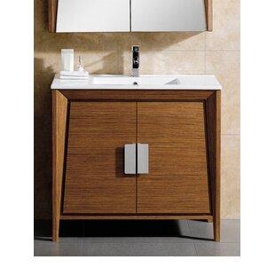 Charmant Mid Century Bathroom Vanity | Wayfair