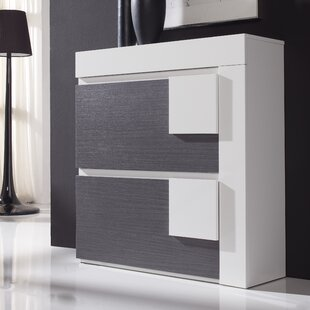 Orren Ellis 30 Pair Shoe Storage Cabinet