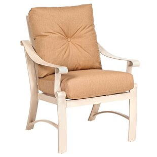 Bungalow Patio Dining Chair with Cushion
