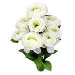 8 Stems Artificial Full Blooming Ranunculus