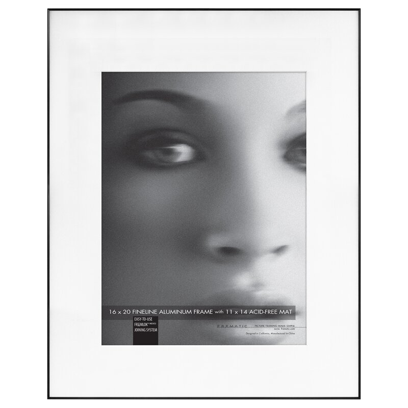 Fineline Mat Picture Frame