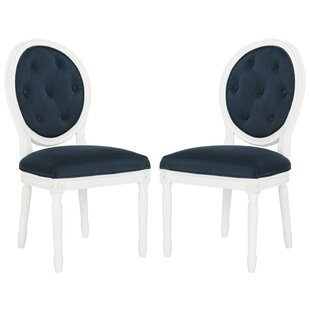 Riya Upholstered Dining Chair (Set Of 2) by Willa Arlo Interiors Find